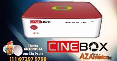 Atualização Cinebox Maestro Plus
