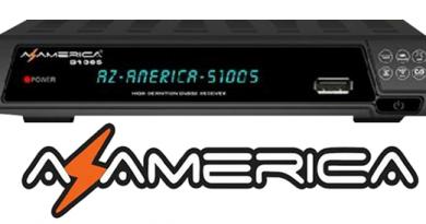 👍 Atualização Azamerica S1005 HD V1.09.21658 – 22/06/2020