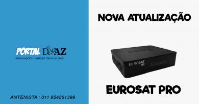 Atualização Eurosat Pro V1.38 – 02/07/2020