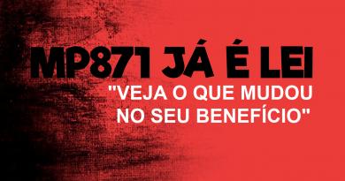 MP 871 JÁ É LEI