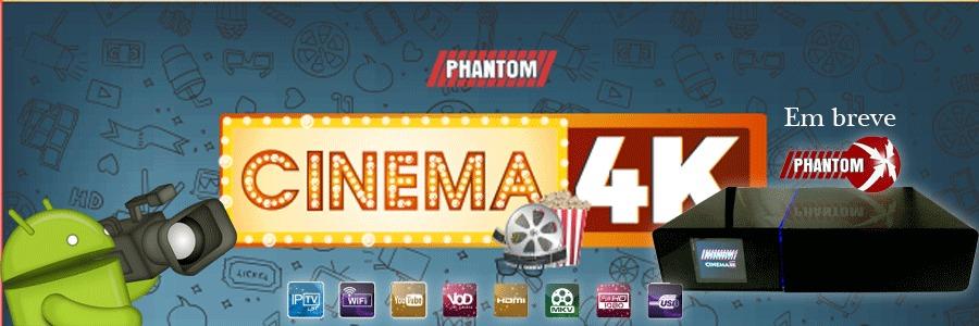 Phantom Cinema 4K banner