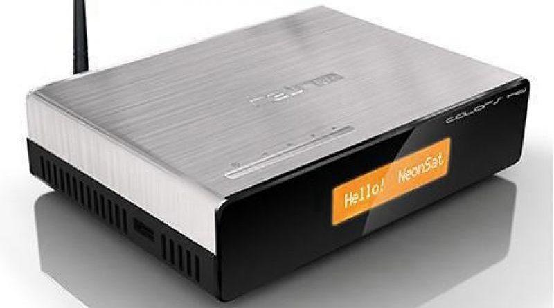 atualização Neonsat Colors HD