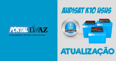 Atualização Audisat K10 V.2.0.53 – Confira!
