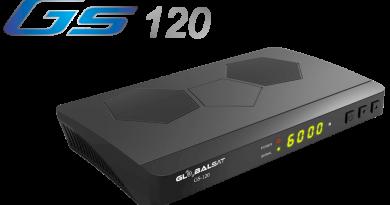 Globalsat GS120 HD : Nova Atualização V2.53 – IKS/SKS