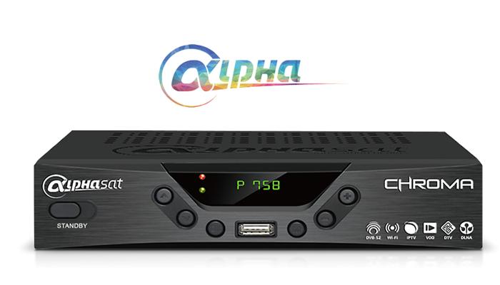 atualização Alphasat Chroma HD