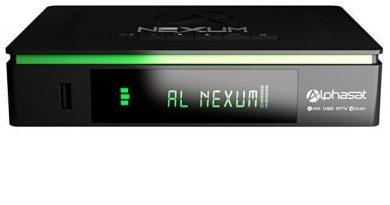 atualização Alphasat Nexum - AZ