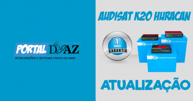 Atualização Audisat K20 V.2.0.53 – Confira!