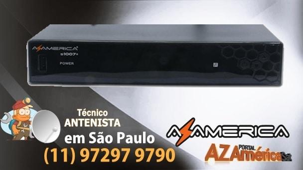 AZAMERICA-S1007-PLUS-HD-ATUALIZAÇÃO