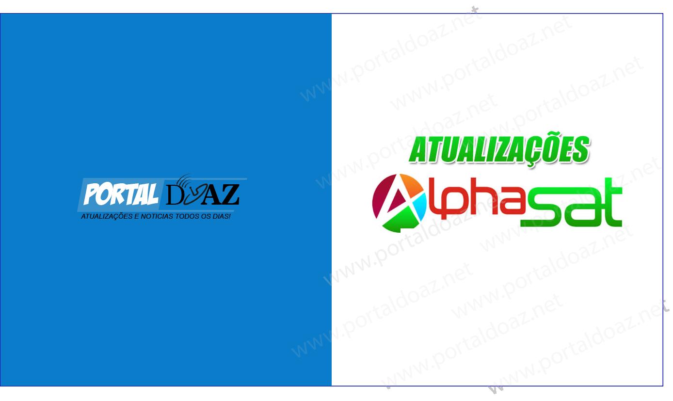 novas atualizações alphasat patch