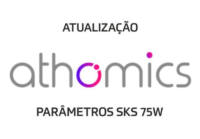 Athomics Parâmetros SKS 75w