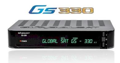 Atualização Globalsat GS330 HD V4.20 – 29/07/2020