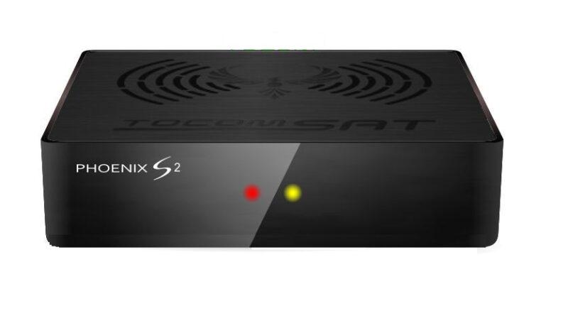 Tocomsat Phoenix S2 atualização