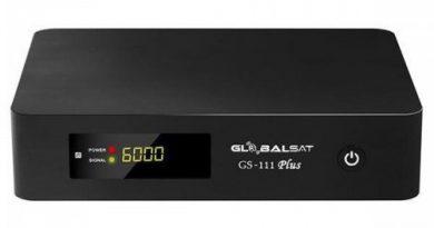 Atualização Globalsat GS111/Gs111 Plus – Servidor Freesat